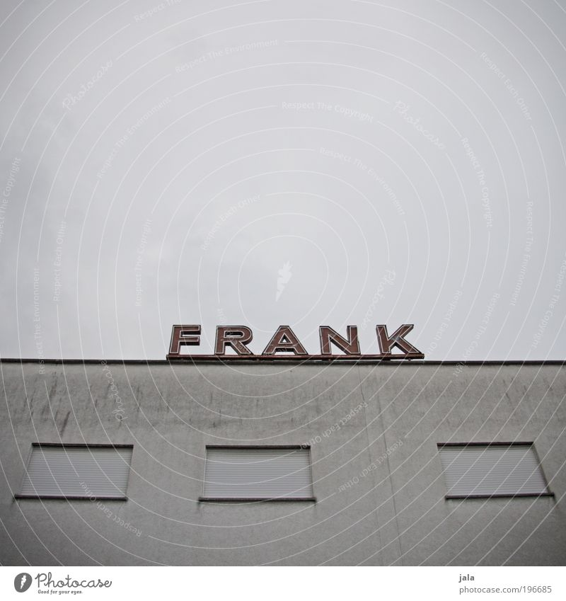 especially for you Freude Haus Fenster Wand Architektur grau Gebäude Mauer lustig Wohnung geschlossen dreckig Fassade groß Erfolg
