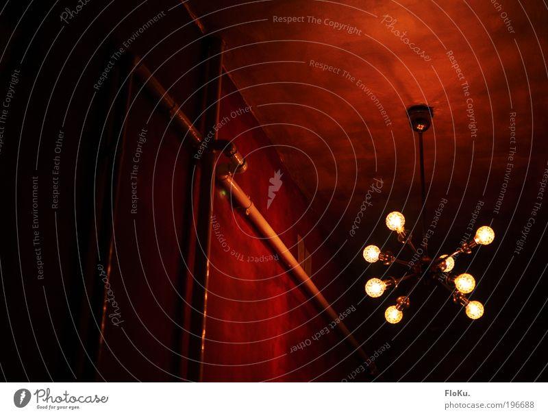 Blood Red Flur rot schwarz Lampe Stil Raum Wohnung Design gold Dekoration & Verzierung Häusliches Leben einzigartig außergewöhnlich Innenarchitektur leuchten