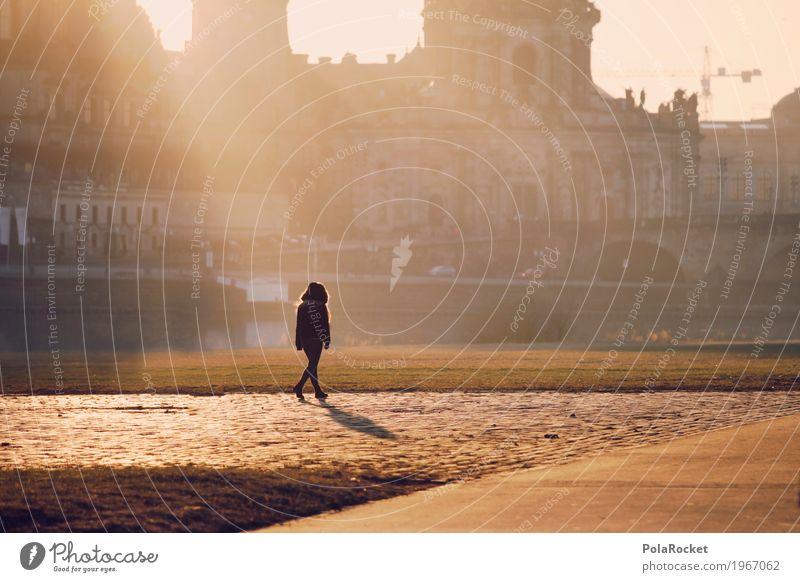 #A# Barockspaziergang Freizeit & Hobby ästhetisch Spaziergang Spazierweg Städtereise Hofkirche Hofkirche Dresden Elbufer Elbe Alltagsfotografie Sonnenlicht