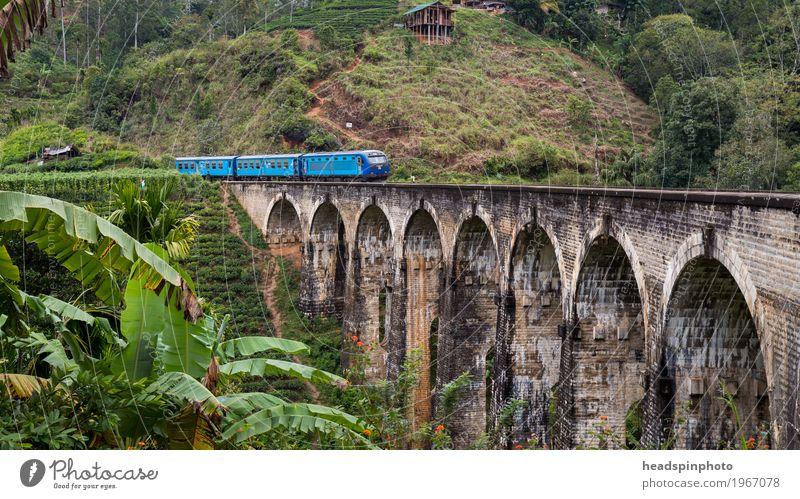 Demodara Nine-Arches-Bridge bei Ella, Sri Lanka Bauwerk Sehenswürdigkeit Wahrzeichen Denkmal Verkehrswege Öffentlicher Personennahverkehr