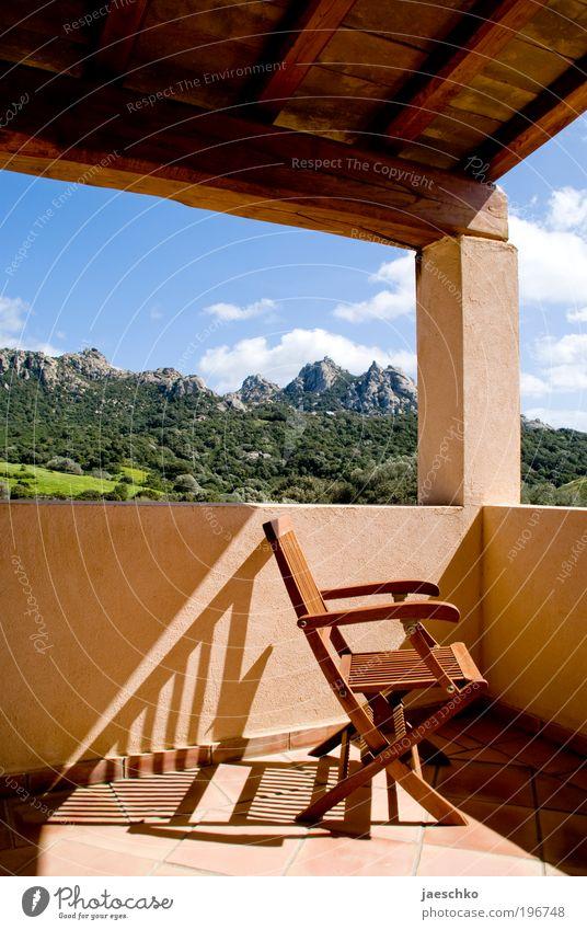 Platz an der Sonne Natur Sommer Ferien & Urlaub & Reisen ruhig Erholung Berge u. Gebirge träumen Landschaft Zufriedenheit Wellness Tourismus Aussicht