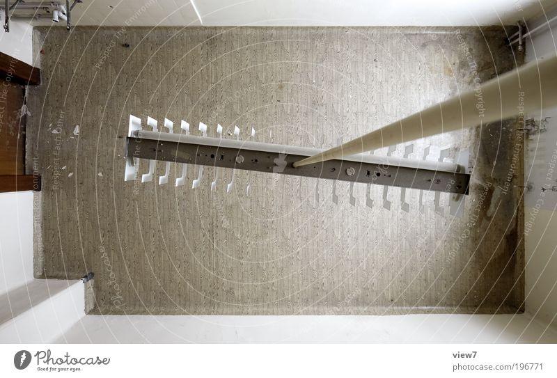 Übersicht 01 alt Einsamkeit Lampe Wand oben Stein Mauer Zufriedenheit braun Raum Wohnung Tür Design elegant Fassade Perspektive
