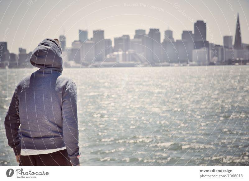 San Francisco View Lifestyle Stil Design Ferien & Urlaub & Reisen Ausflug Abenteuer Ferne Freiheit Sightseeing Städtereise Sommer Sommerurlaub Sonne Strand Meer