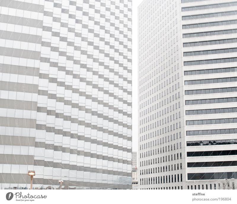 Alles nur Fassade Stadt Fenster Hochhaus USA Skyline Amerika abstrakt Louisiana Haus Muster liniert New Orleans