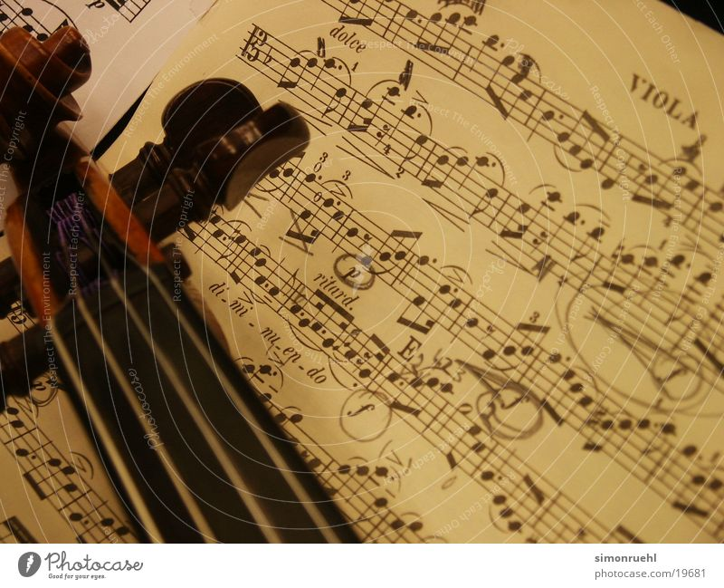 i love classic Bratsche Geige Blatt Saite schön Konzert Musik Musiknoten