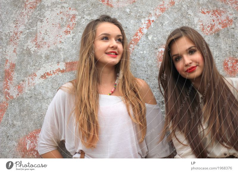 Freundschaft Mensch Ferien & Urlaub & Reisen Jugendliche Junge Frau schön Freude Mädchen Leben Lifestyle Gesundheit feminin Familie & Verwandtschaft
