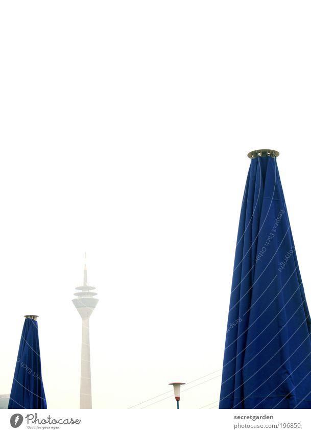 hervorragendes konkurrenzdenken. Ferien & Urlaub & Reisen blau weiß Strand Design ästhetisch Aussicht hoch geschlossen Schönes Wetter Macht Gastronomie Stoff Fernweh Wolkenloser Himmel Restaurant