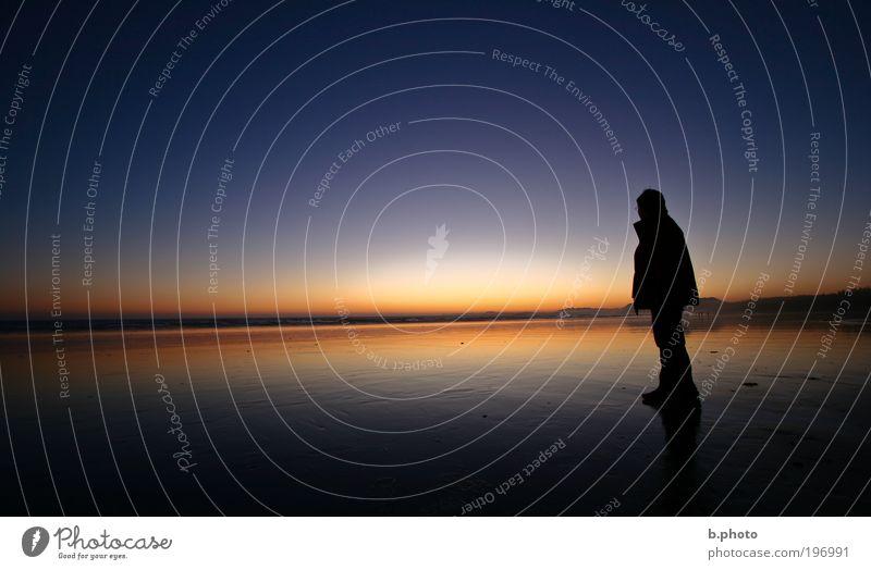 Kana Da Mensch Natur blau Ferien & Urlaub & Reisen Sommer rot Sonne Meer Strand Erwachsene Ferne Freiheit Küste Sand Luft Ausflug