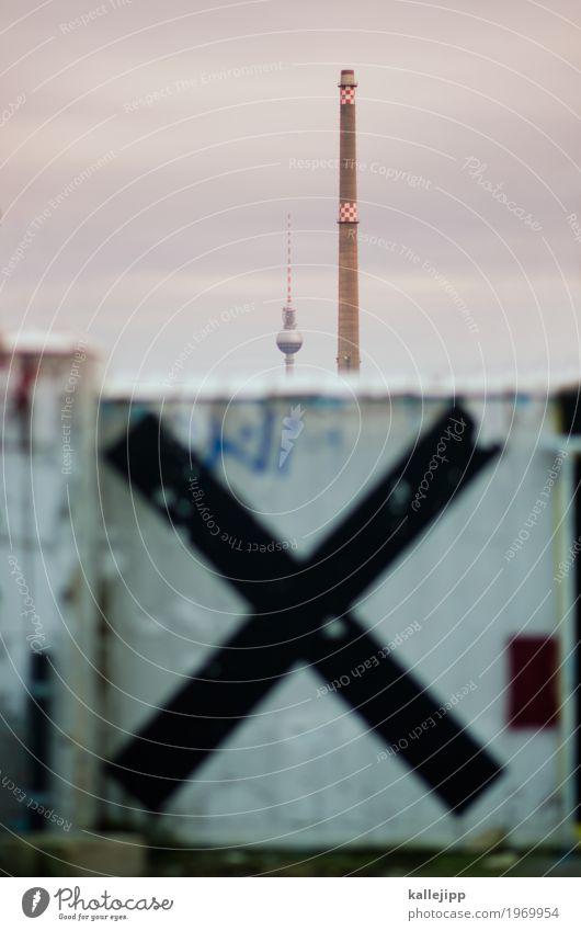 berlin XXL Stadt Wolken Graffiti Berlin Mauer Kunst Industrie Turm Hauptstadt Kreuz Schornstein Berliner Fernsehturm Wahlen Feinstaub x