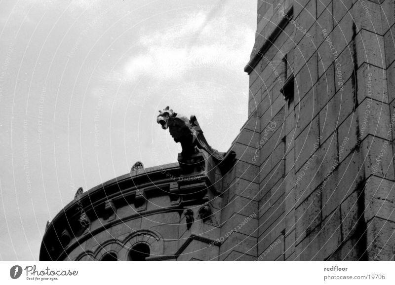 paris alt Stadt Gebäude Europa Paris Steinfigur