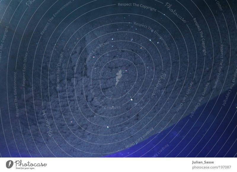 Glitzerblau Eis Beleuchtung glänzend ästhetisch Frost porös
