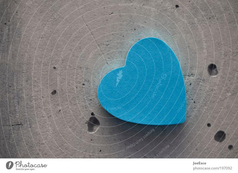 i love pc! Stil harmonisch Valentinstag Muttertag Taufe Beton Zeichen Herz Liebe Freundlichkeit trendy schön Kitsch blau grau Lebensfreude Geborgenheit