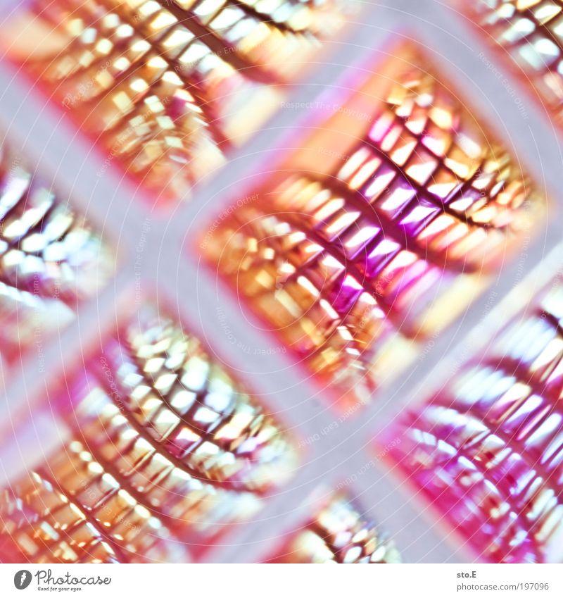 Am liebsten erinnere ich mich an die Zukunft. Kunst Linie Metall Dekoration & Verzierung modern Glas Gold Zeichen Netzwerk Show Kitsch Veranstaltung Spiegel Stahl abstrakt Kristalle