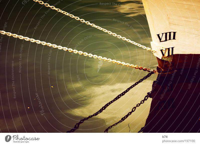 VIII VII nass Seil Wasserfahrzeug Hafen stark Schifffahrt Segelschiff Kreuzfahrt ankern Reflexion & Spiegelung Fischerboot Sportboot Bootsfahrt Passagierschiff