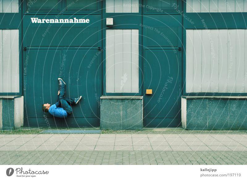 bewerbungsgespräch Mensch Mann Erwachsene Arbeit & Erwerbstätigkeit maskulin Lifestyle Erfolg Schriftzeichen planen Industrie T-Shirt Güterverkehr & Logistik