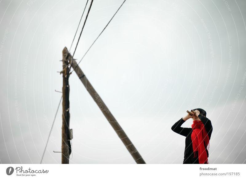 vorschau Mensch Jugendliche Ferne feminin Energiewirtschaft authentisch Suche Perspektive Zukunft Coolness retro Kommunizieren beobachten Konzentration