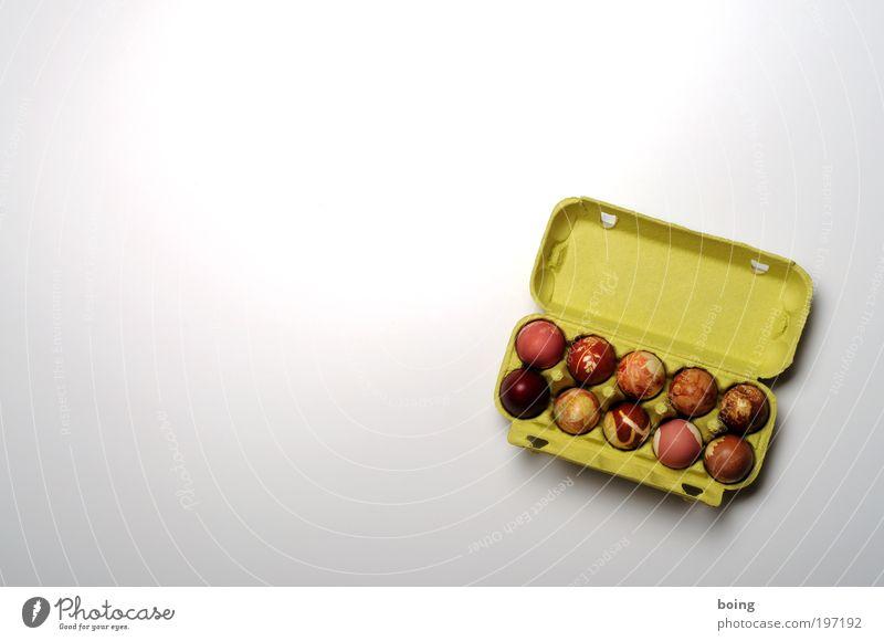 Ostern Lebensmittel Ei Ernährung Büffet Brunch Bioprodukte heimwerken Eier färben Kunsthandwerker Eierverkäufer Ausstellung Verpackung Eierkarton kochen & garen