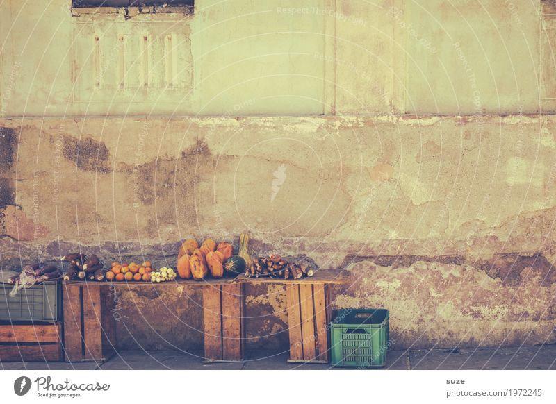 Gemüsestand Wärme Wand natürlich Fassade Kultur Armut Vergänglichkeit einfach Vergangenheit Altstadt Verfall Flair Kuba reif Stadtrand