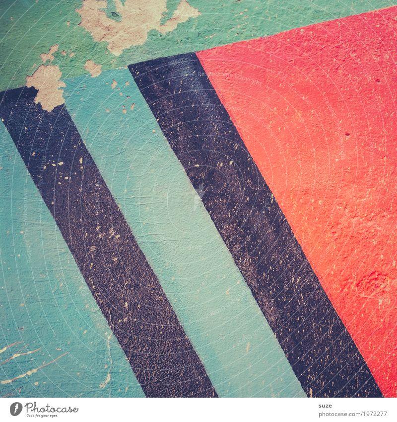 Putzartig rot Hintergrundbild Graffiti Wand Stil Kunst Mauer Stein Fassade Design Dekoration & Verzierung Linie paarweise frei dreckig Kreativität