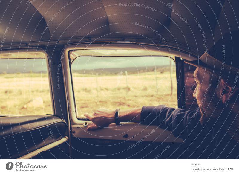 Mitfahrgelegenheit Lifestyle Ferien & Urlaub & Reisen Abenteuer Sommer Sommerurlaub Mensch maskulin Junger Mann Jugendliche Erwachsene Kultur Verkehrsmittel PKW