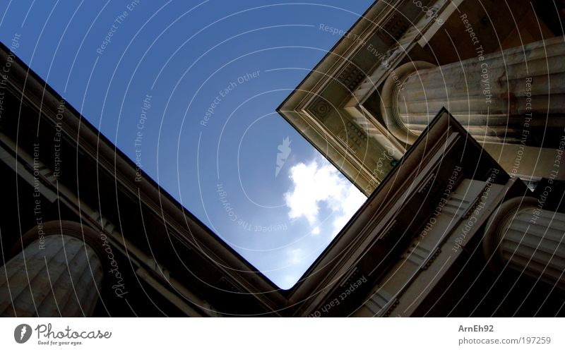 Antik Kultur Hauptstadt Tor Bauwerk Architektur Sehenswürdigkeit Wahrzeichen Denkmal Stein alt ästhetisch eckig elegant gigantisch groß historisch hoch stark