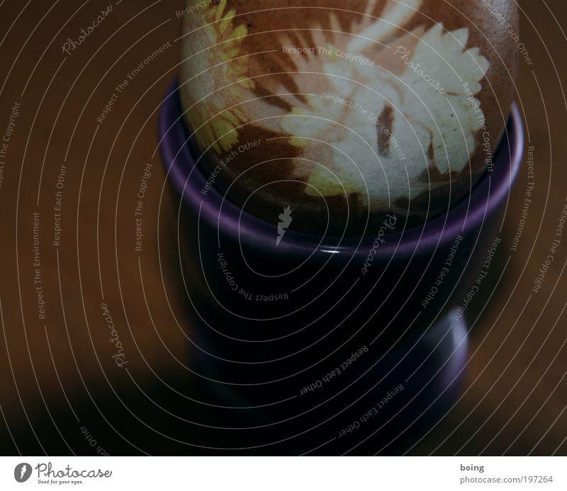 Osterei Ernährung Farbe oben Gras Lebensmittel Kochen & Garen & Backen Ostern Kitsch Dekoration & Verzierung Vergänglichkeit Zeichen Ei Gänseblümchen Ornament