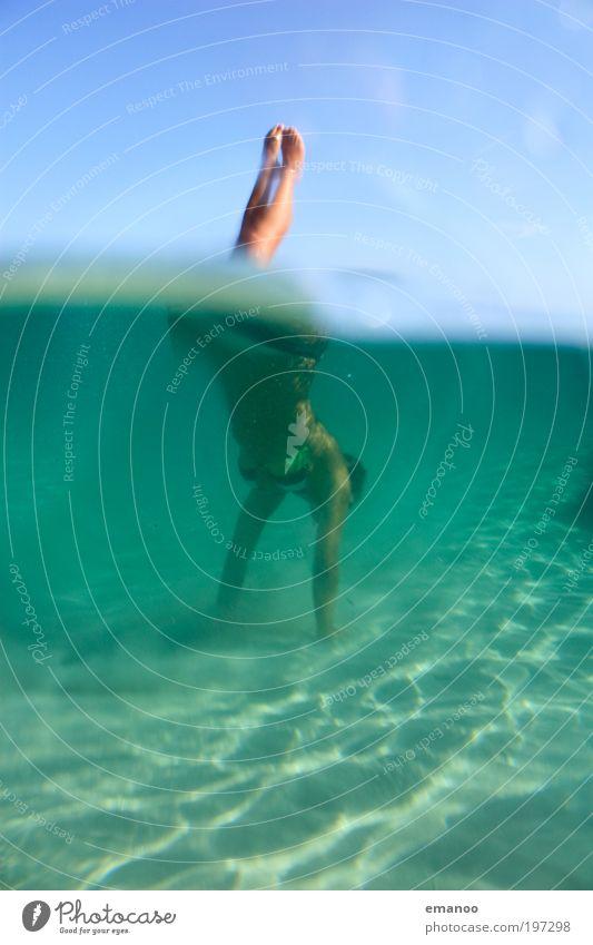 sardinian mermaid Lifestyle Freude Schwimmen & Baden Ferien & Urlaub & Reisen Tourismus Freiheit Sommer Strand Wassersport tauchen Mensch feminin Junge Frau