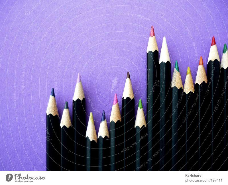 colorado. Farbe Stil Linie Wohnung Freizeit & Hobby Design Grafische Darstellung verrückt Lifestyle Streifen Häusliches Leben Bildung malen zeichnen