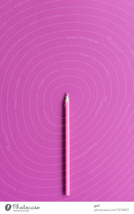 Pink Freizeit & Hobby Schule Büroarbeit Arbeitsplatz Werbebranche Kunst Schreibwaren Papier Zettel Schreibstift zeichnen ästhetisch einfach violett rosa