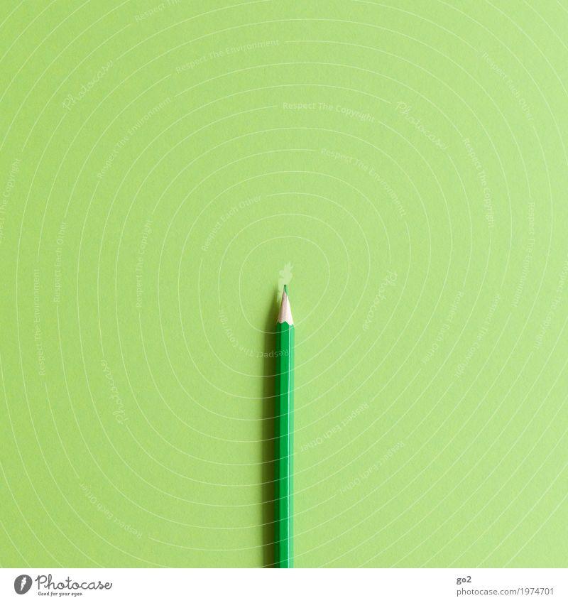Hellgrün Freizeit & Hobby Kindergarten Schule Studium Büroarbeit Arbeitsplatz Werbebranche Kunst Künstler Maler Schreibwaren Papier Schreibstift zeichnen