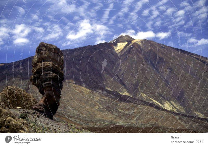 Pico de Teide Berge u. Gebirge Vulkan Kanaren Teneriffa