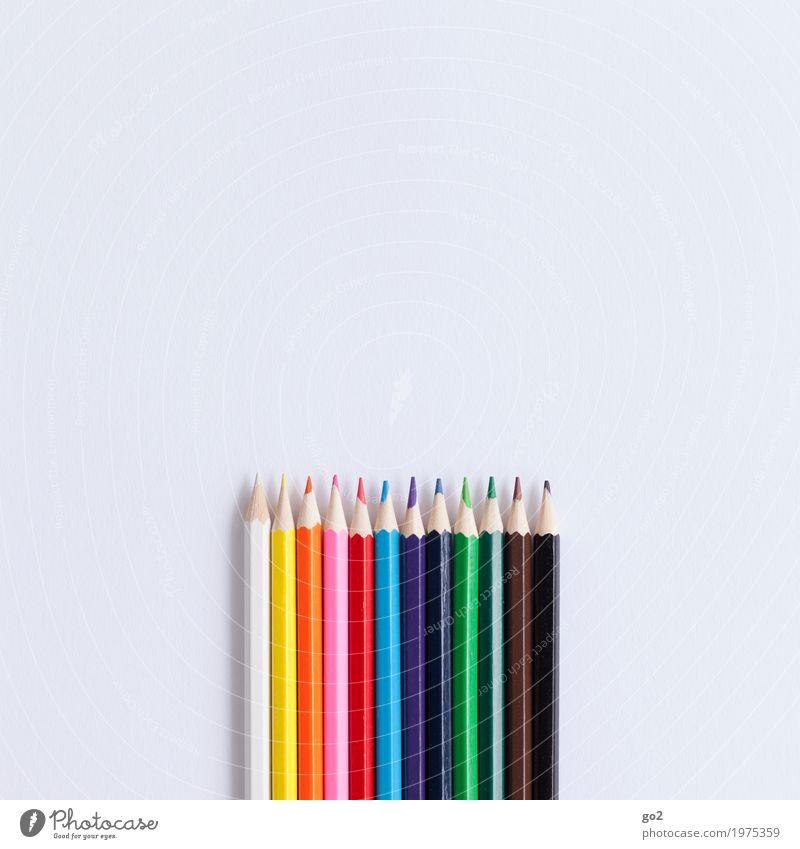 Alle Farben Farbe Kunst Schule Design Freizeit & Hobby Büro ästhetisch Kreativität Idee Papier Studium Team rein zeichnen Werbebranche Sitzung