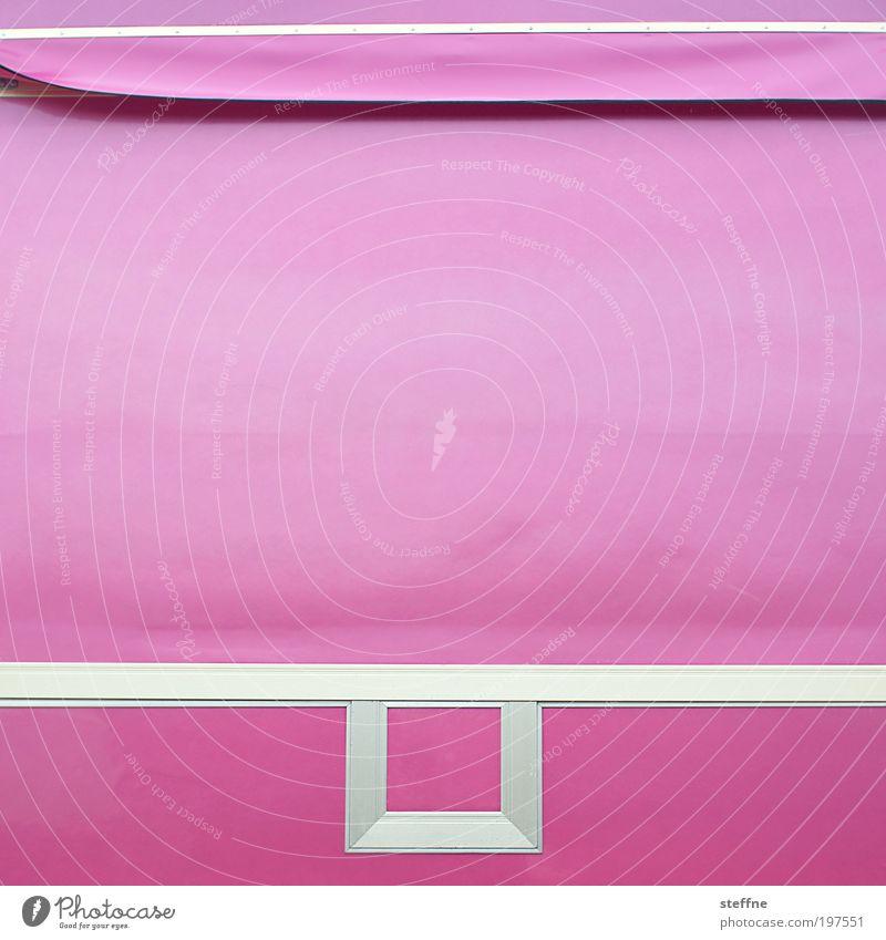 T H ! N K P i N K schön rosa Stoff Lastwagen Jahrmarkt trendy Zirkus Abdeckung Muster Textilien abstrakt