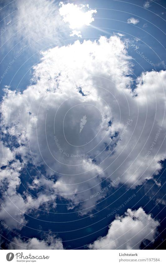 atme III Himmel Natur blau weiß Sonne Wolken ruhig Erholung Umwelt Spielen Freiheit Luft Wetter elegant Klima Ausflug