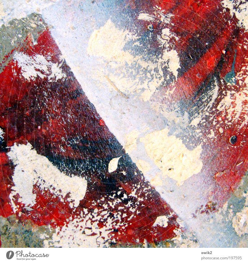 Spielfeld weiß blau rot schwarz gelb Farbe Stil Freiheit Holz Farbstoff Kraft Kunst Design verrückt ästhetisch authentisch
