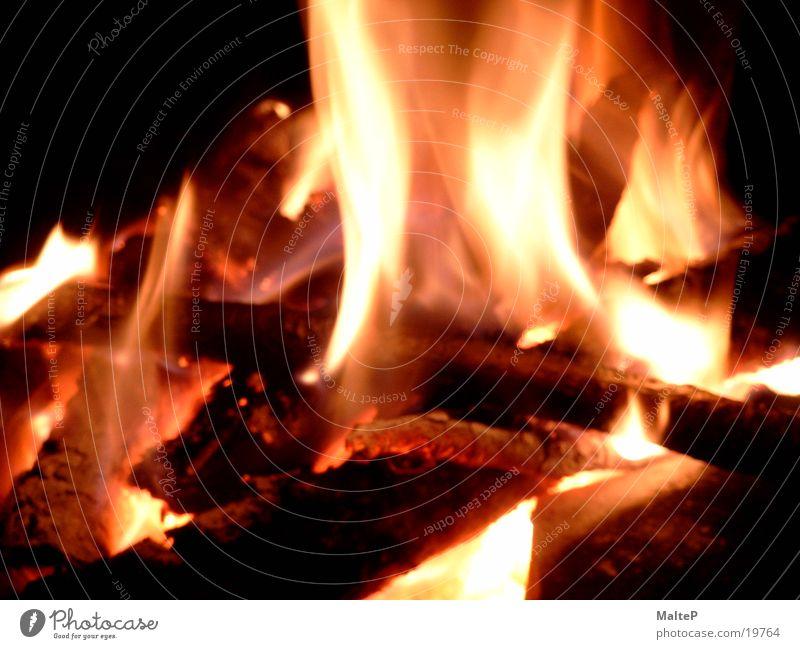 fire Glut Brand brennen Holz