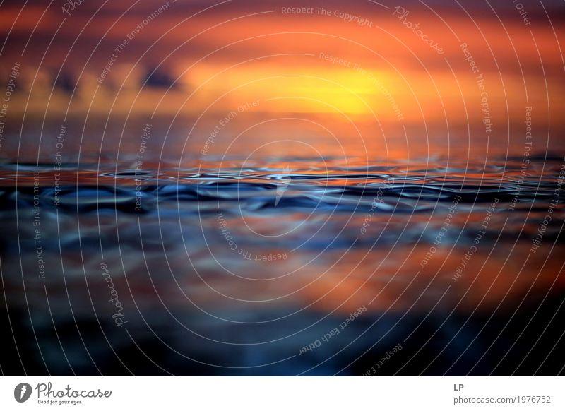 Sonnenuntergang in Réunion Lifestyle Wellness harmonisch Wohlgefühl Zufriedenheit Sinnesorgane Erholung ruhig Meditation Ferien & Urlaub & Reisen Ferne Sommer