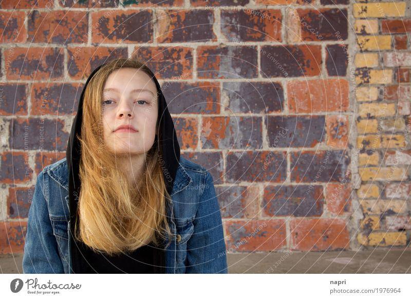 Meinst Du!? feminin Junge Frau Jugendliche 1 Mensch 13-18 Jahre authentisch selbstbewußt Coolness Kraft Willensstärke Mut Entschlossenheit Identität einzigartig