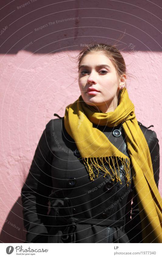 Schönes junges Modell Lifestyle elegant Stil Design schön Haare & Frisuren Kosmetik Schminke Wellness harmonisch Wohlgefühl Zufriedenheit Sinnesorgane Erholung