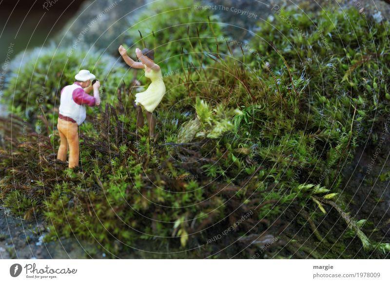 Miniwelten - Foto Shooting I (mit time.) Ferien & Urlaub & Reisen Tourismus Ausflug Sommer Berge u. Gebirge wandern Mensch maskulin feminin Junge Frau