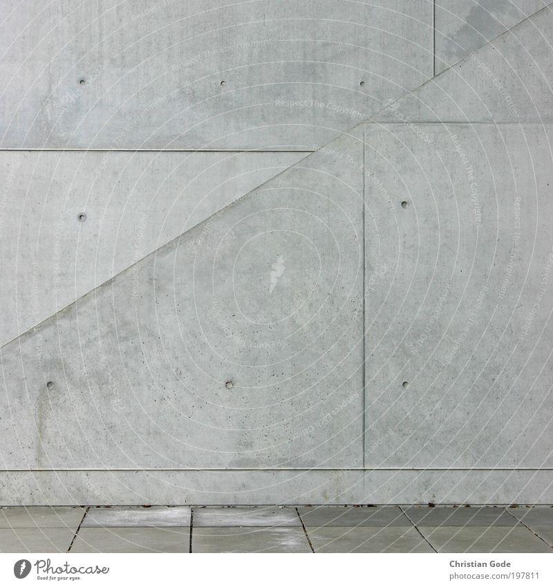 BETON II kalt Wand grau Mauer Gebäude Architektur Fassade Tunnel Bauwerk Säule Museum Muster Vogelperspektive Stadt