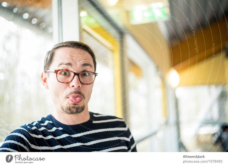 rumblödeln II Mensch Jugendliche Mann Junger Mann Freude 18-30 Jahre Gesicht Erwachsene Leben maskulin Lebensfreude Mut Konflikt & Streit Leichtigkeit Euphorie
