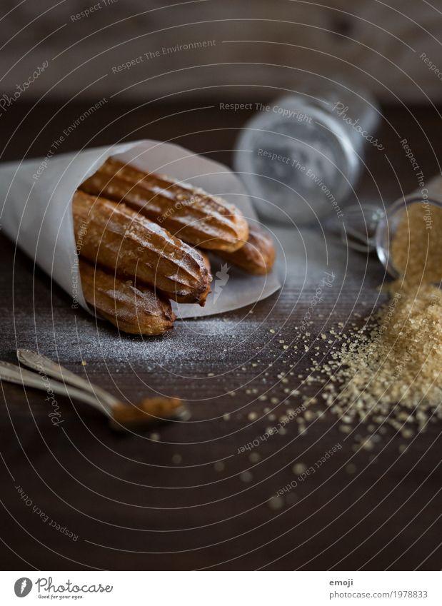 Churros Teigwaren Backwaren Dessert Süßwaren churro churros Ernährung Slowfood Fingerfood lecker süß Kalorienreich Farbfoto Innenaufnahme Menschenleer Tag