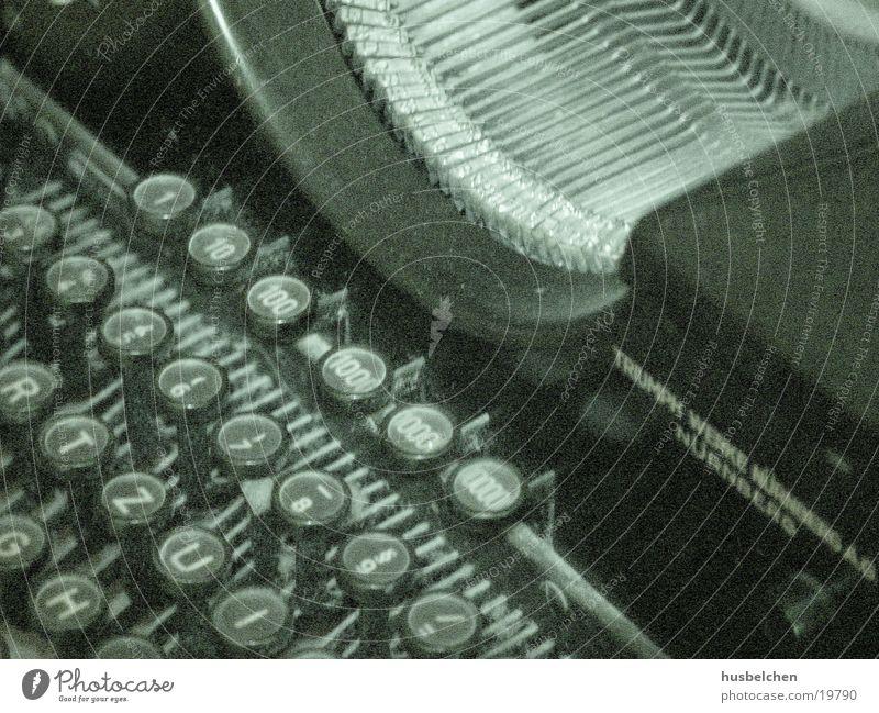 tipp Erfolg Buchstaben Tastatur berühren historisch Schreibmaschine