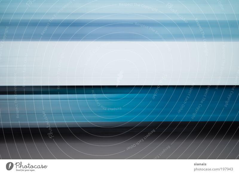 autobahn impressionen IV weiß blau Ferien & Urlaub & Reisen Straße Linie Straßenverkehr Verkehr Geschwindigkeit Ausflug fahren Güterverkehr & Logistik Lastwagen