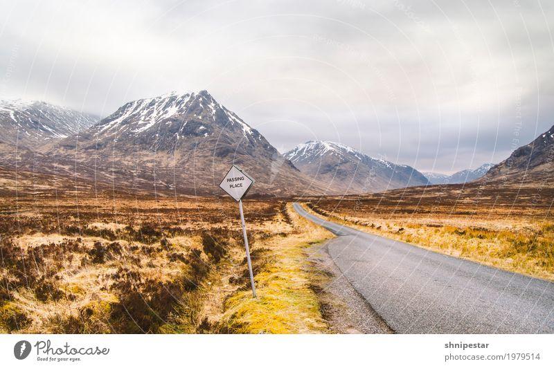 Glen Etive, Scotland Ferien & Urlaub & Reisen Abenteuer Ferne Freiheit Expedition Camping Berge u. Gebirge wandern Umwelt Natur Landschaft Urelemente Erde