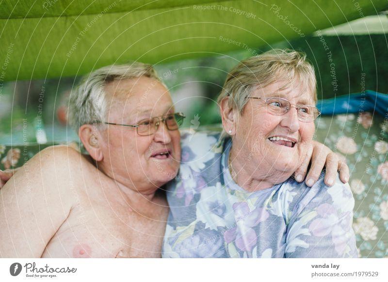 Oma & Opa Frau Mensch Ferien & Urlaub & Reisen Mann nackt Erwachsene Leben Gesundheit Liebe Senior Gesundheitswesen Familie & Verwandtschaft lachen Paar