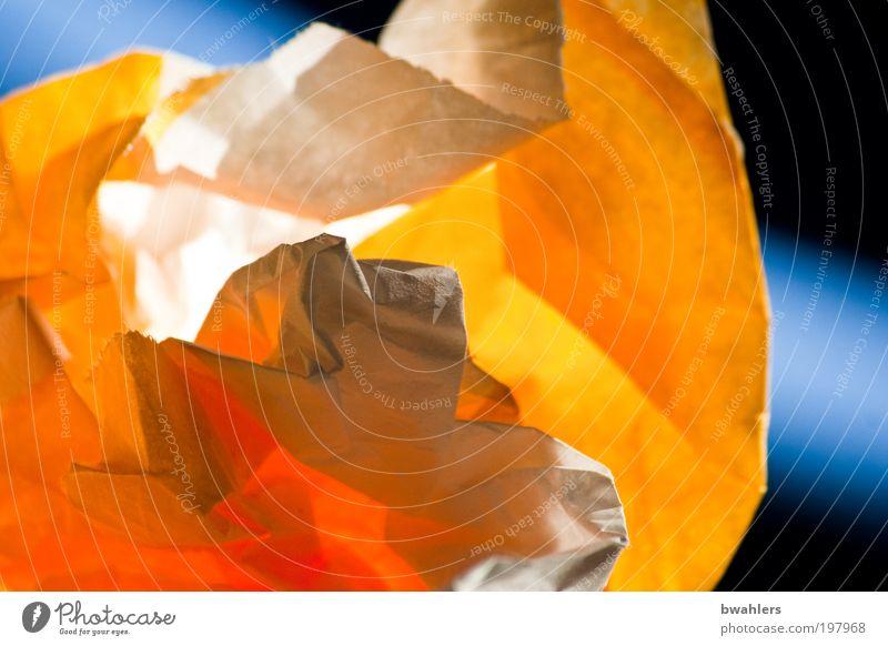 Altpapier Ernährung Lebensmittel Papier genießen mehrfarbig Müll Verpackung Licht abstrakt Papiermüll