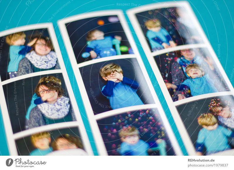 Fotos von Fotos Mensch Kind blau Freude Erwachsene Liebe lustig natürlich feminin Stil Junge lachen Familie & Verwandtschaft Spielen Glück außergewöhnlich