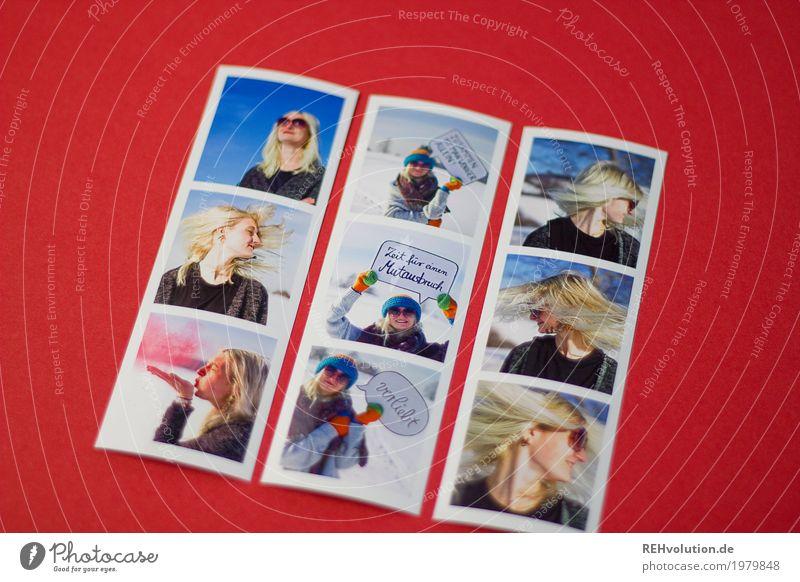 Fotos von Fotos - Jule im Winter Mensch Frau Himmel Natur Jugendliche Junge Frau rot 18-30 Jahre Gesicht Erwachsene Umwelt Lifestyle Schnee feminin Stil